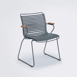 Click Outdoor Chair with arms