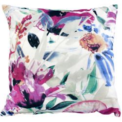 Exotic Floral Cushion