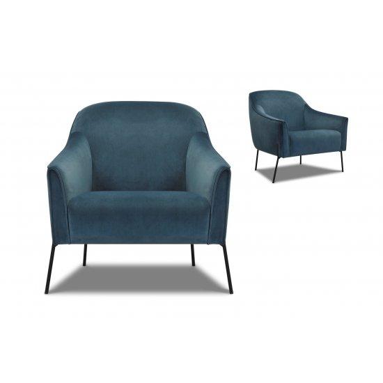 Olivia Velvet Chair