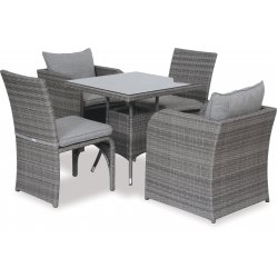 Two + Two 5 pc Outdoor Setting
