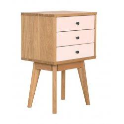 Radius 3 Drawer Side Table
