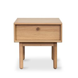 Prague Lamp Table with Drawer