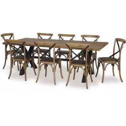 Cross Dining Table 2200