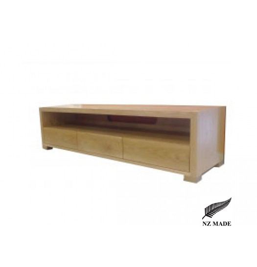 Sicily Oak Entertainment Unit